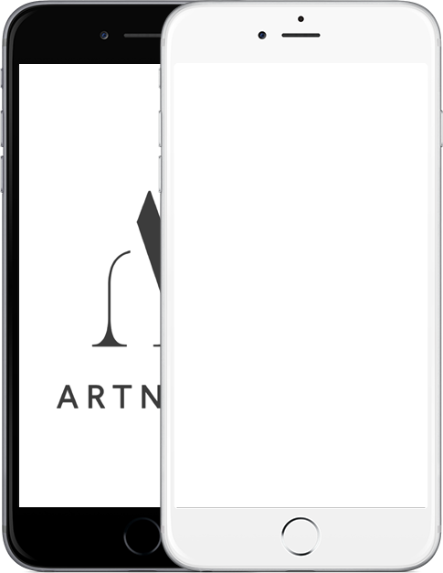 iPhone showing ArtNote screen shots